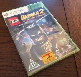 Lego Batman 2 DC Super Heroes (sealed) for Xbox 360