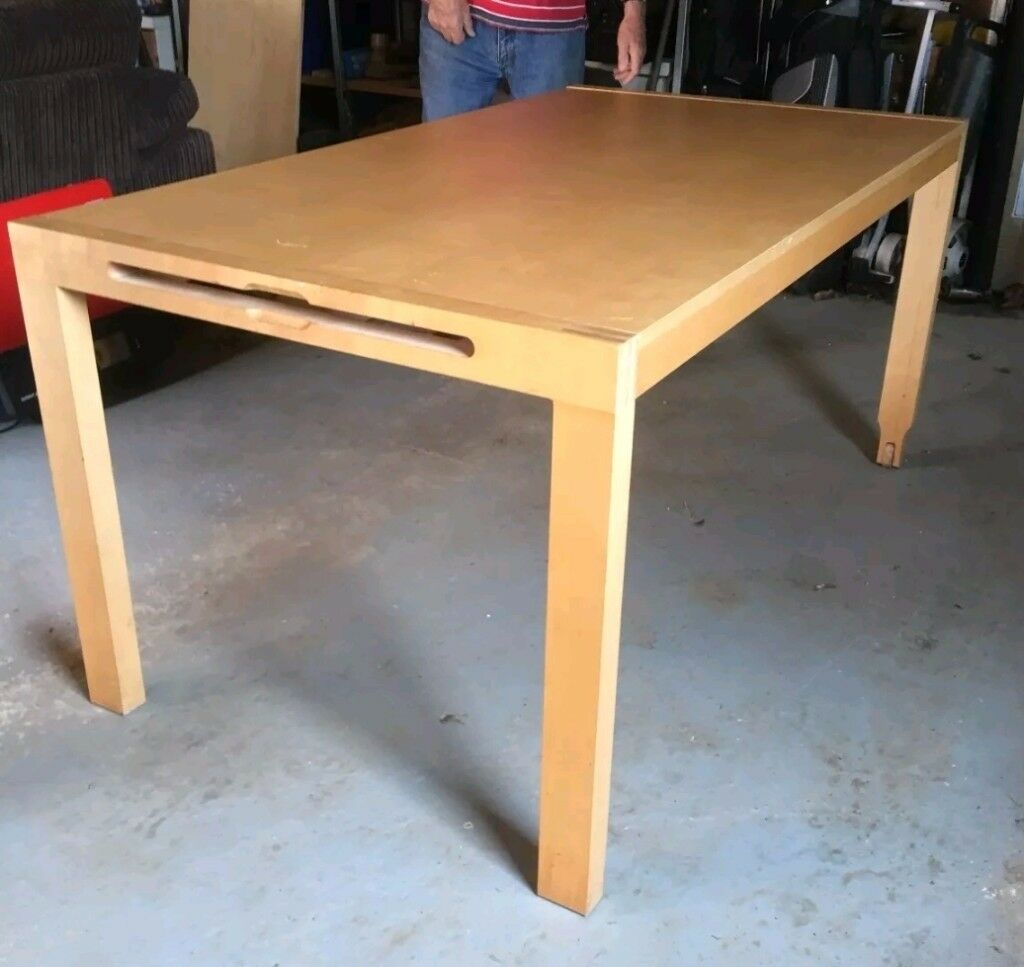 Ikea Solid Wood Extending Table FREE DELIVERY 731
