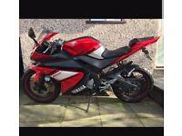 Yamaha yzf r125 scorpion exhaust 2009 low miles!