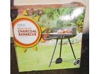New in box portable Charcoal barbeque from Tesco
