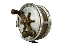 """HARDY BROS Ltd ALNWICK -THE FORTUNA REEL- RARE 7"""" ALLOY BIG GAME SEA FISHING ROD REEL"""