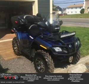 2011 Can-Am Outlander Max 800 Limited