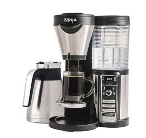 NINJA CF085C COFFEE BAR BREWER, SILVER! Save Up To 50% Off Retail Price! Other Coffee Makers Available!