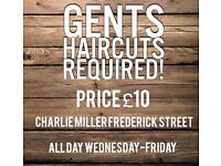 *GENTS HAIRCUTRS FOR £10*