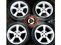 "15"" Brand New Wolfrace alloys 4x100 brand new tyres."