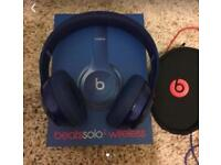 Beats solo wireless 2 mint condition.