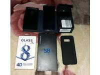Samsung Galaxy s8 128gb brand new samsung warranty