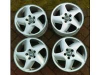 4 x genuine Volvo 16 alloy wheels set rims