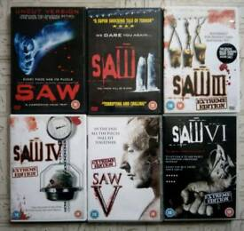 Saw dvds