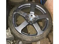 "BMW X5 22"" alloy wheel"