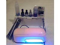 UV lamp with free gel starter kit