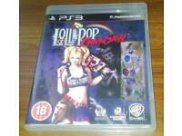 LOLLIPOP CHAINSAW PLAYSTATION 3 GAME LIKE NEW