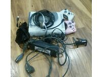 Xbos 360 kinect additional hard drive and HUGE games bundle from war games to karaoke!! OFFERS CONS