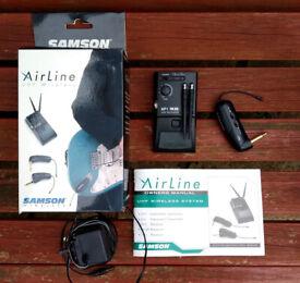 Samson AirLine guitar wireless system brand new