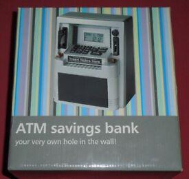 'ATM Savings Bank' & Clock (new)