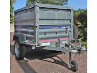 Trailer Daxara 158 with Extended sides