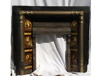 Victorian Cast Iron Fireplace - good condition - £250 o.n.o.