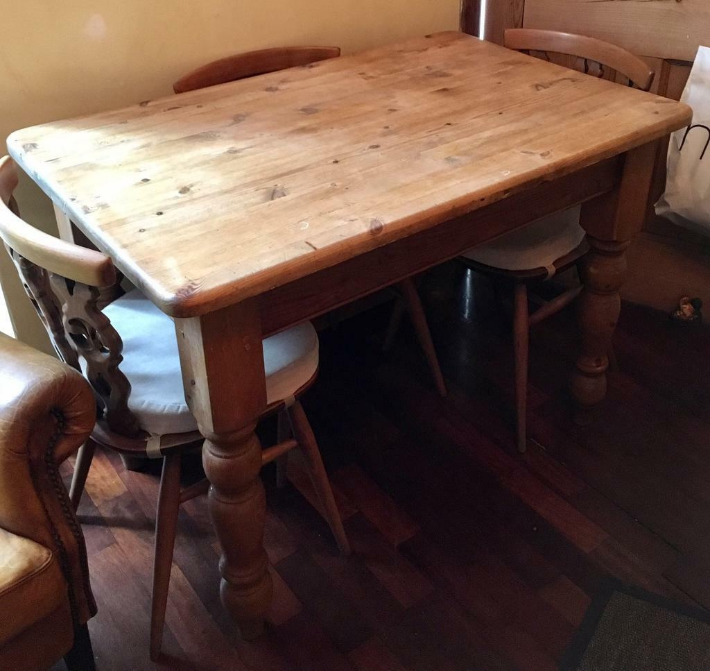 small pine farmhouse table shabby chic project in ripley