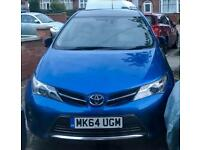 "2014 ""64"" Toyota Auris Hybrid Excel - Fully Loaded + Pan Roof + Full GREY Leather + Full History"