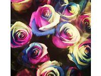 Busy florist shop