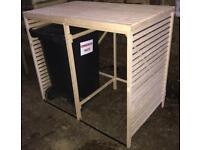 Wheelie Bin Garden Tidy Wooden Storage Shed Cover