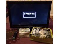 "Wii console, games & 31"" TV bundle"