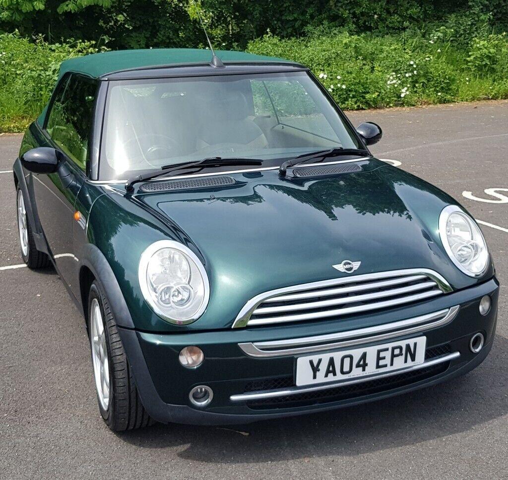 2004 Mini Cooper (Chili) Convertible In Metallic 'British