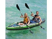 Intex challenger k2 Kayak with Oars   2 person  brand new✅   ready to collect✅