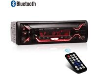 Bluetooth Car Stereo MP3 Player USB AUX Hands-free Calls A2DP Music £39.99