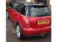 Red Mini Cooper sport £1300