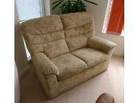 G Plan suite   1x sofa, 1x armchair RRP: £2k+