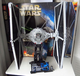 LEGO STAR WARS 75095 UCS TIE FIGHTER - retired model complete