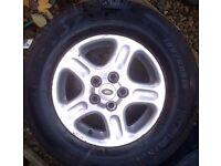 Land Rover Freelander 1 - 15 inch alloy wheel (1998-2006)