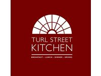 Full & part time Front of House/Waiters/bar staff- Turl Street Kitchen