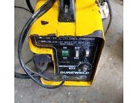 Sureweld Monomig 101 Mig Welder - Full Setup - just needs gas bottle filled