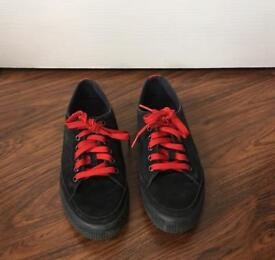 Fitflop Sporty Suede Sneakers- Size 5