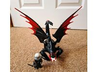 Playmobil 70039 DreamWorks Dragons, Deathgripper with Grimmel