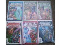Avengers Celestial Quest 1 - 6 marvel comics