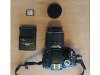 Nikon D5100 DSLR Camera with 18-55mm lens & 16GB SD card