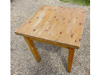 Cafe tables - solid pine