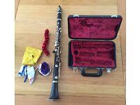 Yamaha 26 ii Clarinet - full working order, with case.