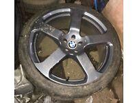 "BMW X5 22"" alloy wheel"