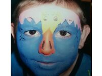 Facepainting for parties, events etc
