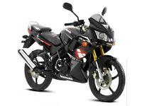bargain lexmoto xtrs 125cc motorbike black 2017
