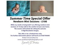 Newborn Photographer - Summer Time Special Offer