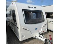 BAILEY ORION 440/4 2011 WITH DOUBLE DINETTE
