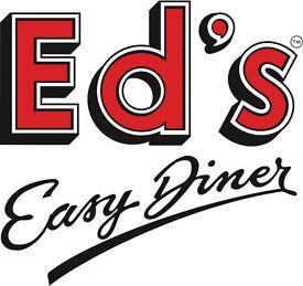 Waiter / Waitress Eds Easy Diner Birmingham GC - IMMEDIATE START - Competitive pay plus tips