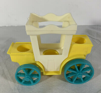 Vintage Fisher Price Little People Family Castle 993; Replacement Carriage Only