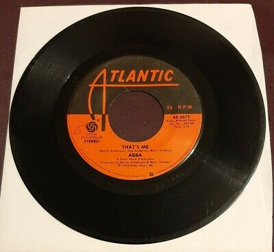 Abba 45 That's Me / Dancing Queen 1976 Atlantic 45-3372 vg+