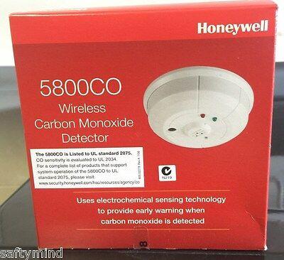 Brand New Honeywell 5800CO Wireless Carbon Monoxide Detector, CO, Exp: 12/2022
